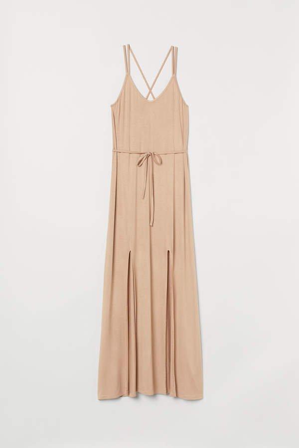 Long Dress - Beige