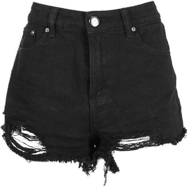 BooHoo Ripped Shorts