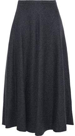 Oppio Wool And Cashmere-blend Midi Skirt