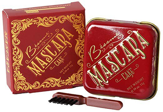 Amazon.com : Besame Cosmetics: Cake Mascara - Vintage Mascara - .39 oz - Stays In Place, Mutli-Use, Creates Gorgeous, Defined Lashes : Beauty