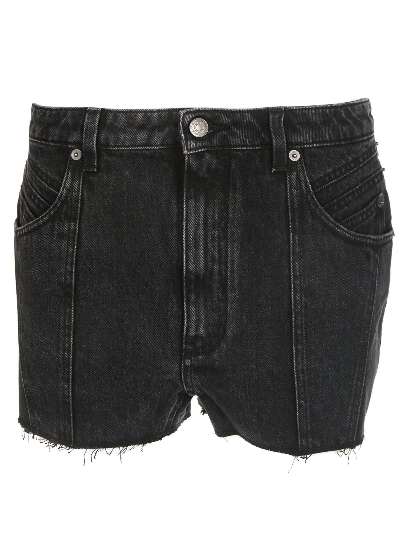 Givenchy Raw Edge Denim Shorts