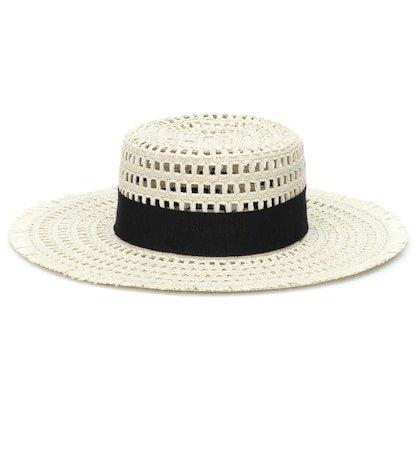 Acqua raffia hat