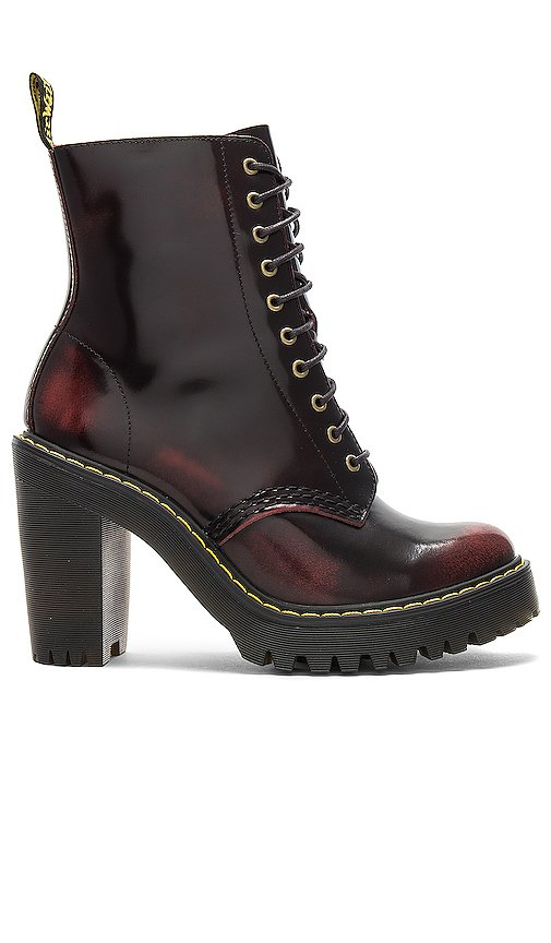 Dr. Martens Kendra Boot in Cherry Red | REVOLVE