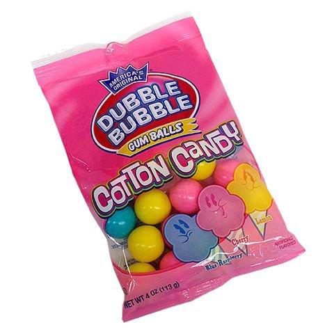 double bubble cotton candy bubble gum