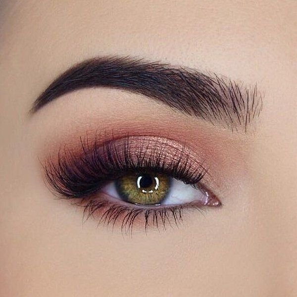 Light Pink & Purple Eye Makeup