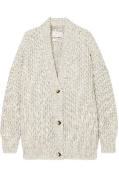 Lauren Manoogian | Grandma alpaca and organic cotton-blend cardigan | NET-A-PORTER.COM