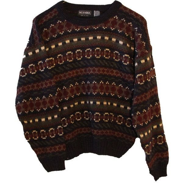 Indie Zig-Zag Tribal Print Hipster Sweater Tumblr