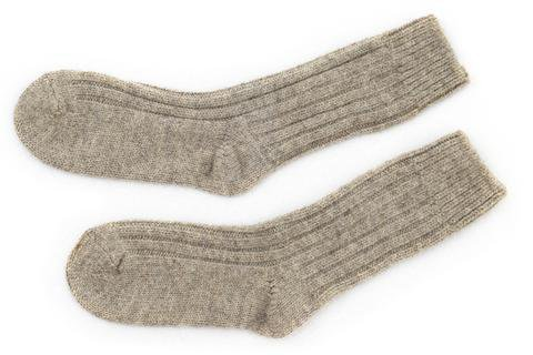 Organic Wool Socks Oatmeal Sheep Wool | Biddy Murphy – Biddy Murphy Irish Gifts