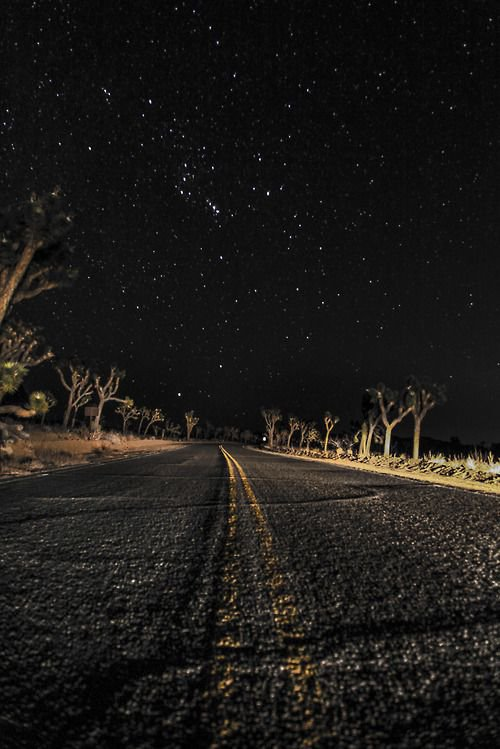 4x4girl: This is what I see at night when I drive. Regardless of where I am. | Photography. in 2018 | Pinterest | Night skies, Night and Sky