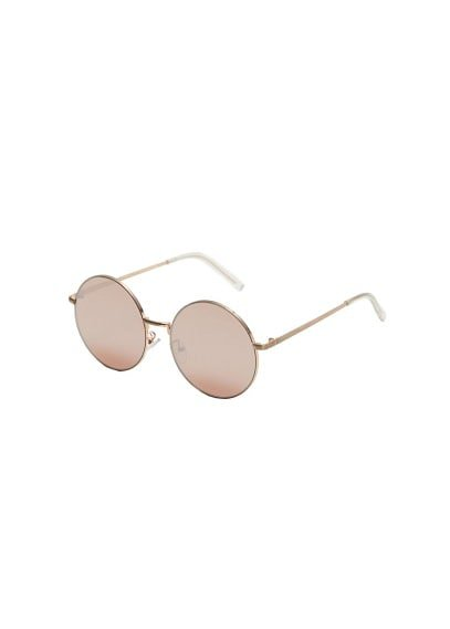 MANGO Rounded sunglasses