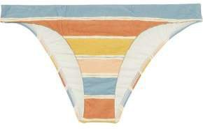 Basic Striped Low-rise Bikini Briefs