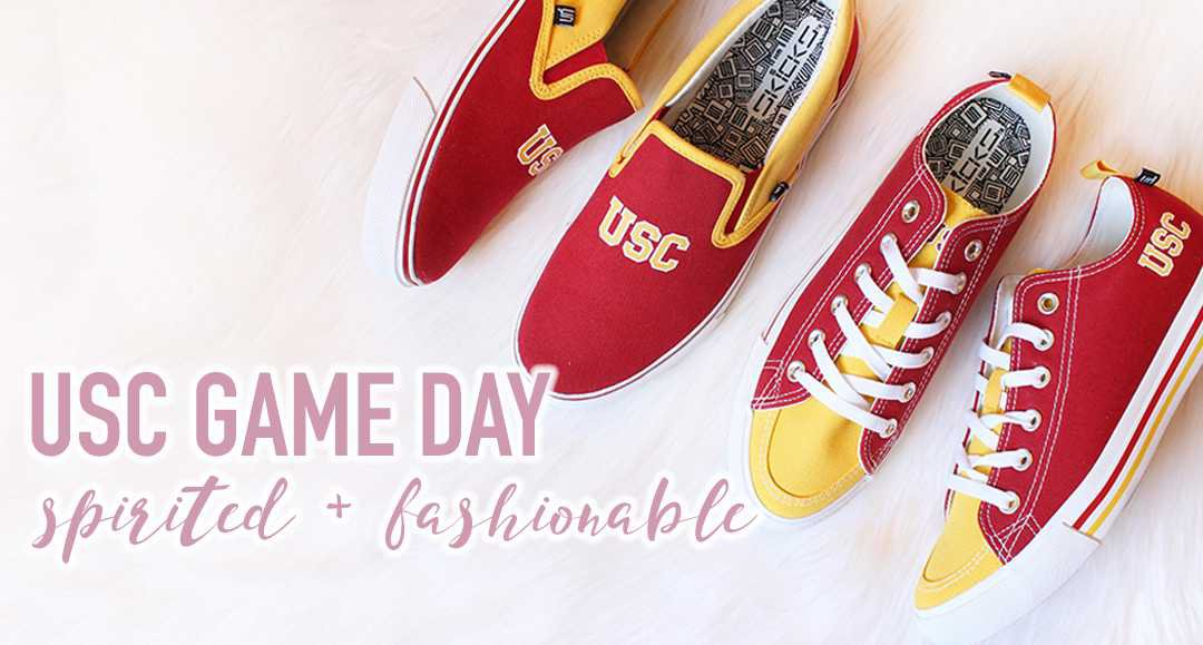 Spirited + Fashionable   USC GAME DAY IDEAS