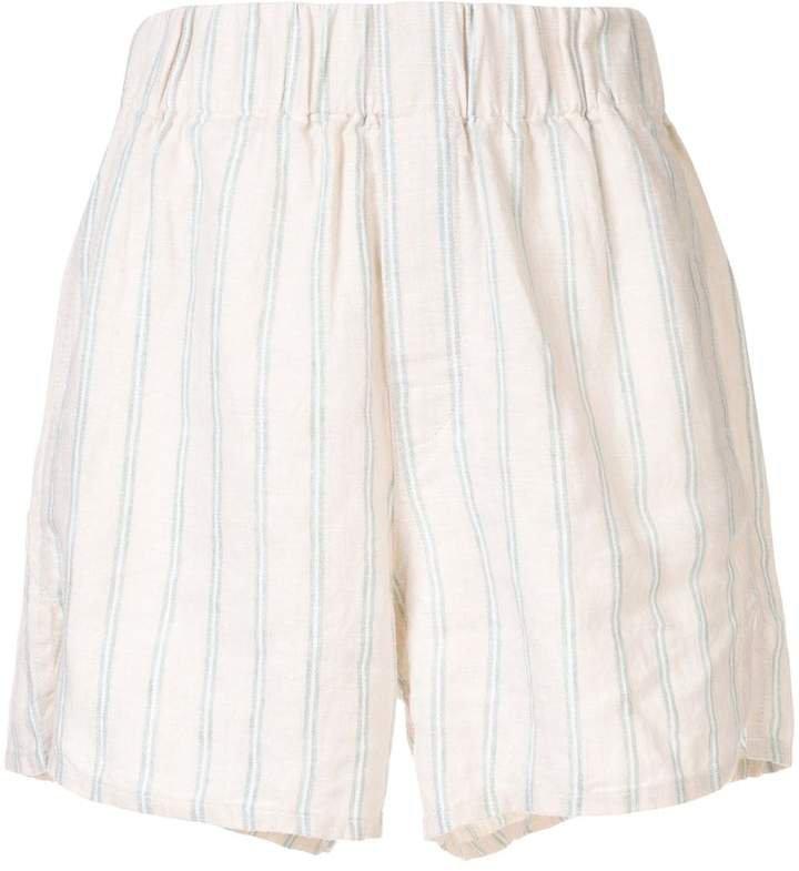 Venroy striped summer shorts