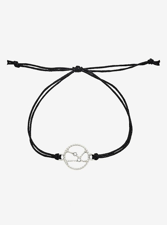 Taurus Constellation Cord Bracelet