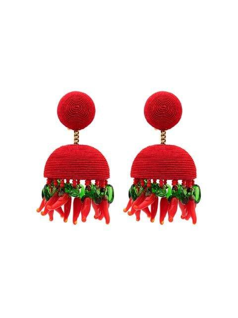 Rebecca De Ravenel Drop bead earrings