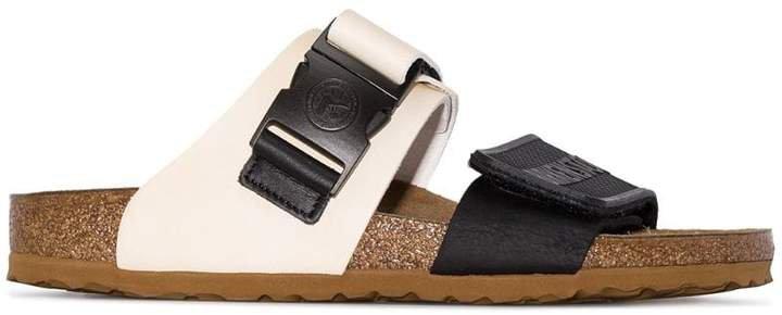 Rick Owens X buckle strap sandals