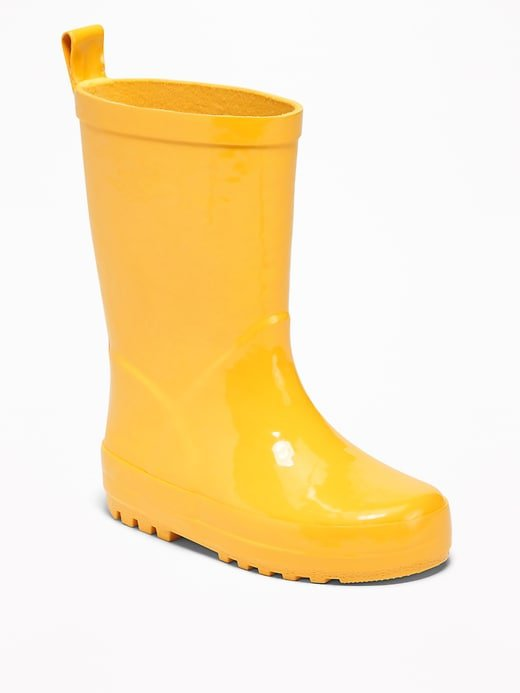 Yellow Rain Boots for Toddler | Old Navy