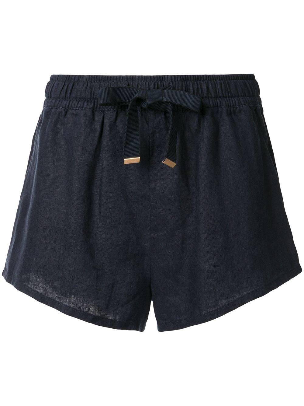 Venroy Short Linen Shorts - Farfetch