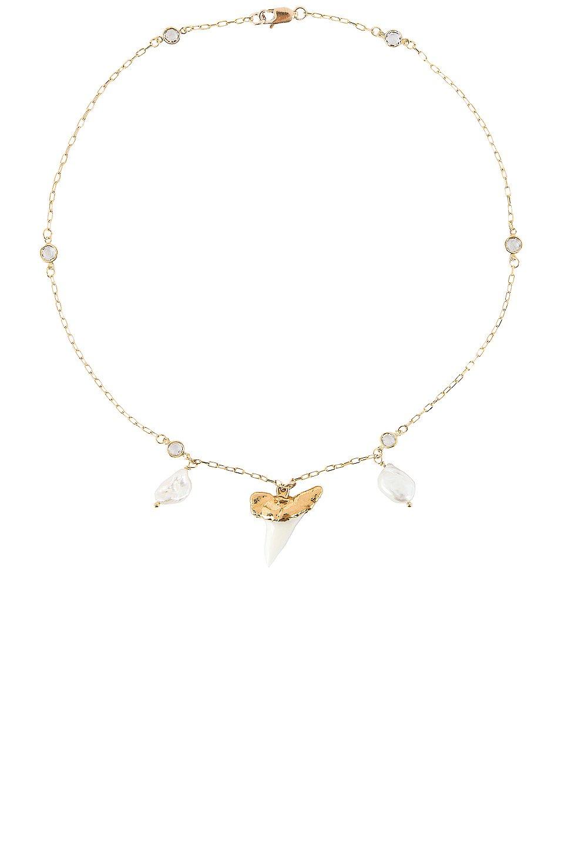 Martello Pearl Necklace