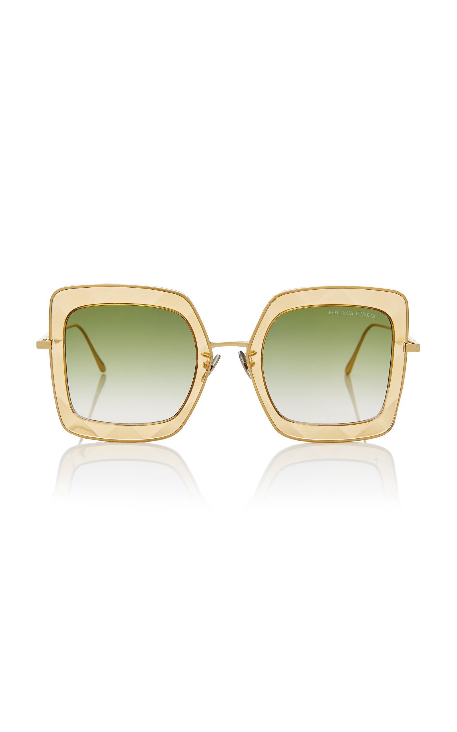 Bottega Veneta Oversized Square Sunglasses