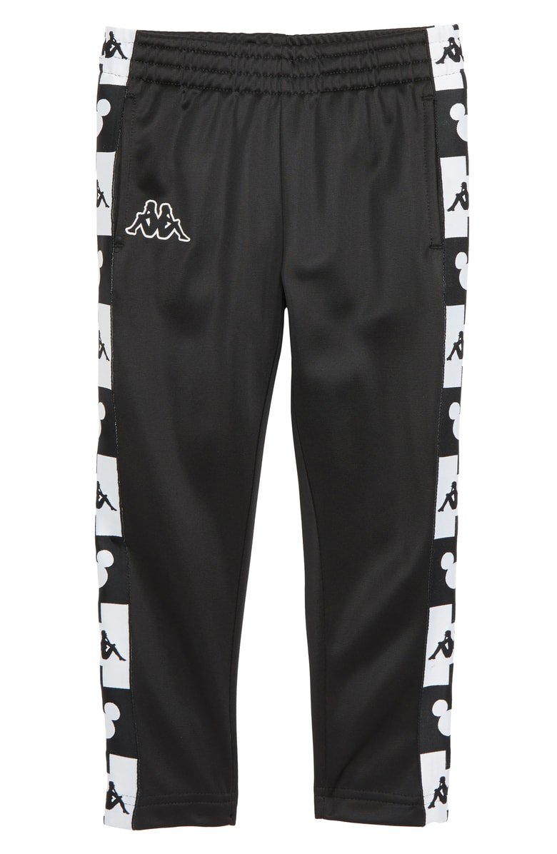 Kappa x Disney® Authentic Anthony Snap Away Track Pants (Toddler Boys, Little Boys & Big Boys)   Nordstrom