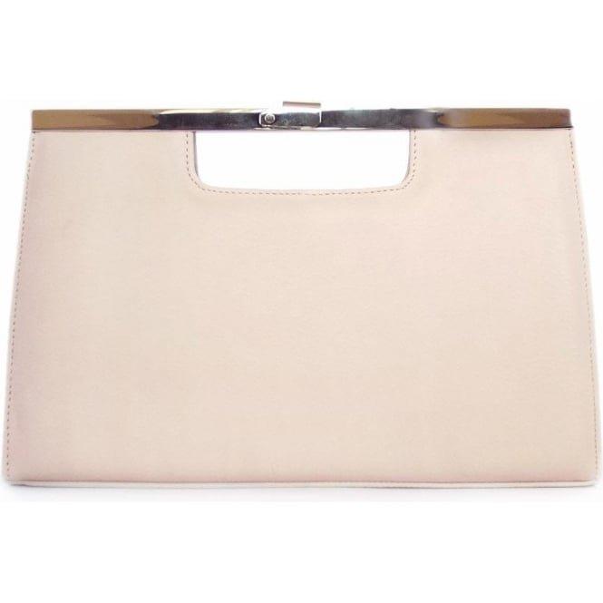 Peter Kaiser UK | Wye | Rosa Pink Blush Leather Evening Clutch Bag