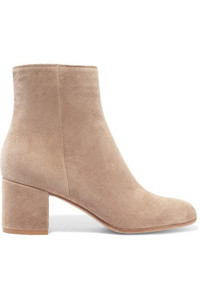 Gianvito Rossi | Margaux 65 suede ankle boots | NET-A-PORTER.COM