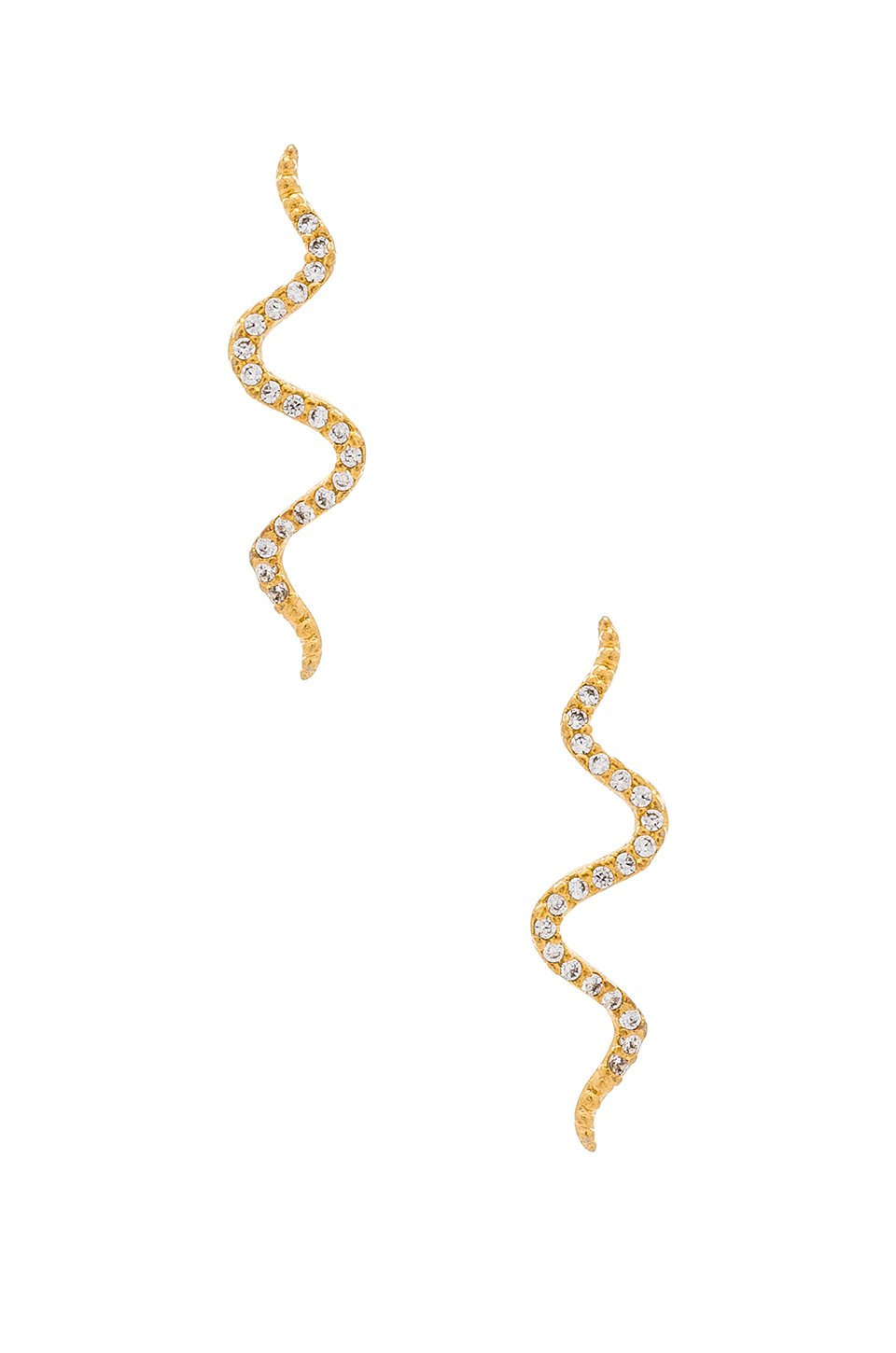 Snake Crawler Earrings