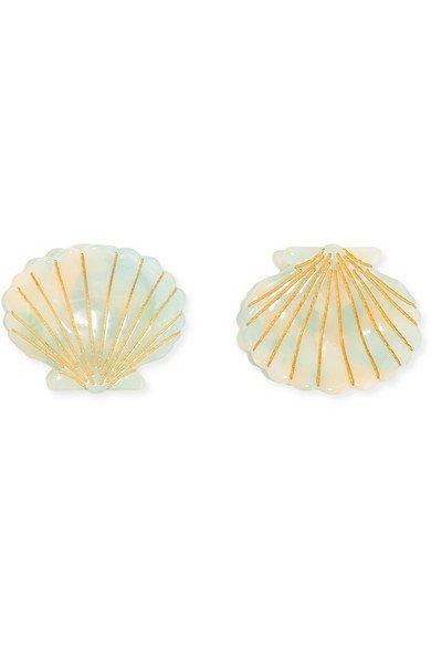 Valet | Set of two Ursula resin hair clips | NET-A-PORTER.COM