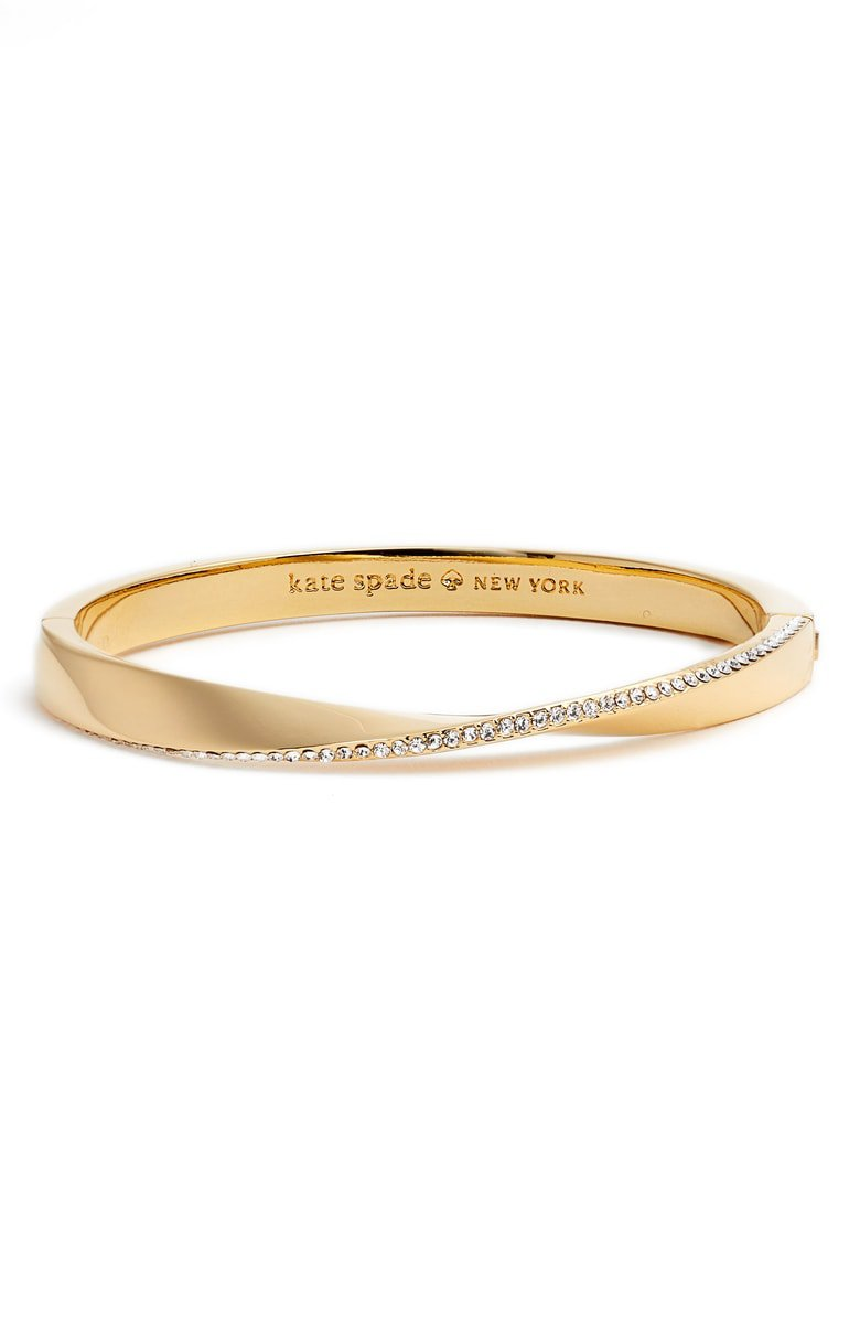 kate spade new york do the twist pavé bangle | Nordstrom
