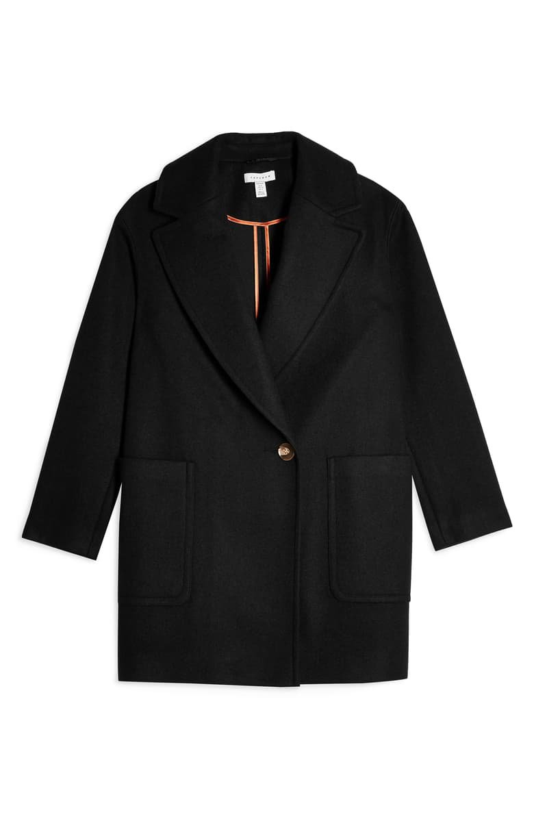 Topshop Carly Coat (Petite)   Nordstrom