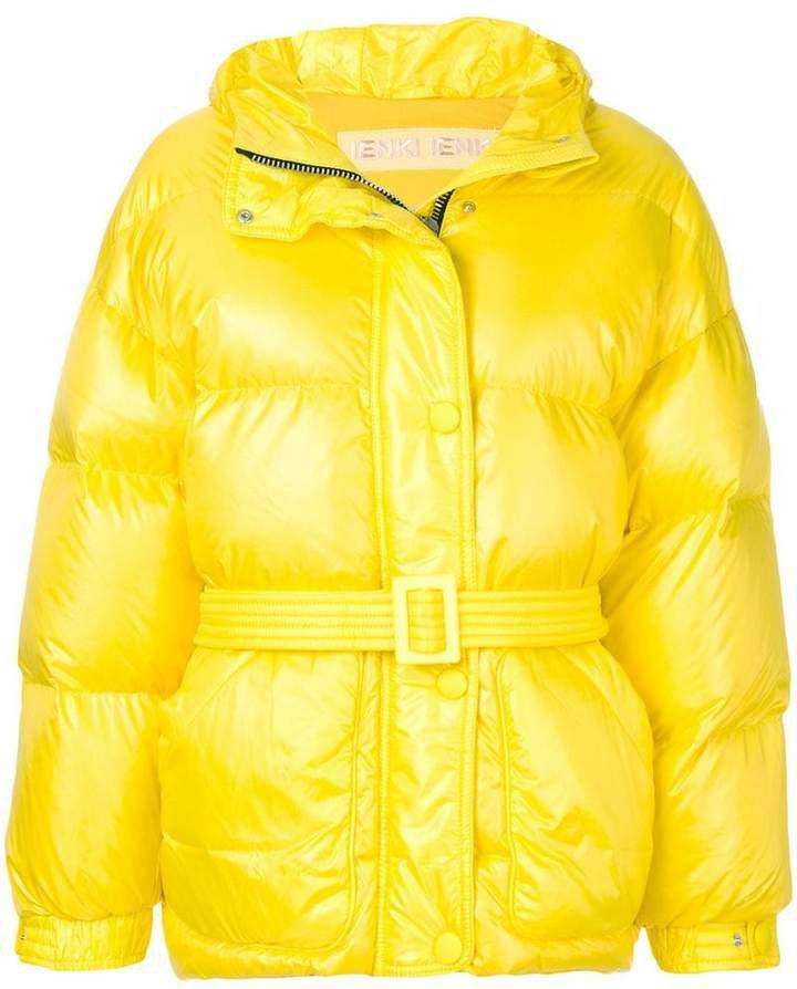 Ienki Ienki Michelin belted jacket