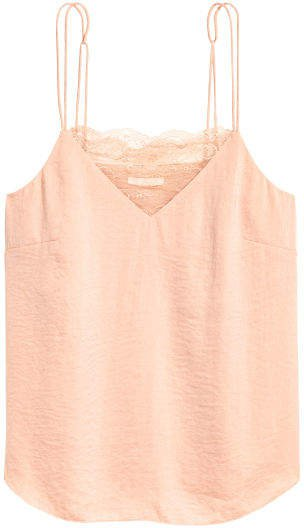 Creped Camisole Top - Orange