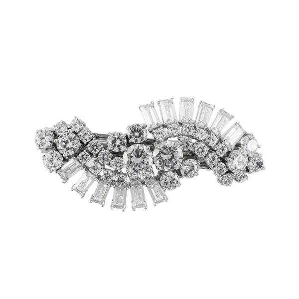 Hair Accessories   Shop Women's Baguette Cut Deco Swirl French Clip at Fashiontage   SNH0008 CLSI