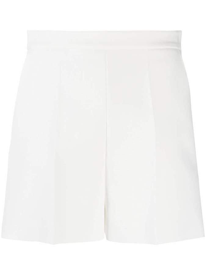 side zip fastening shorts