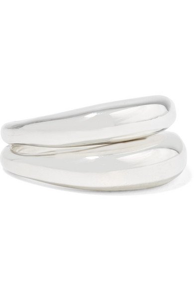 Sophie Buhai | Set of two silver rings | NET-A-PORTER.COM