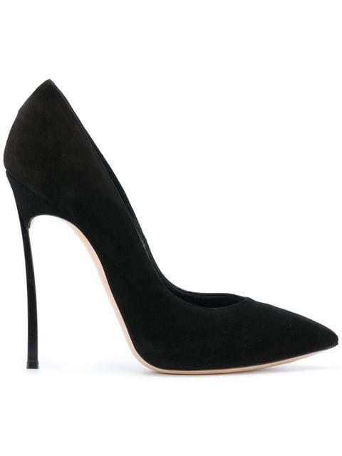 Casadei thin stiletto heeled pumps