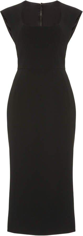 Dolce & Gabbana Cady Midi Dress Size: 36