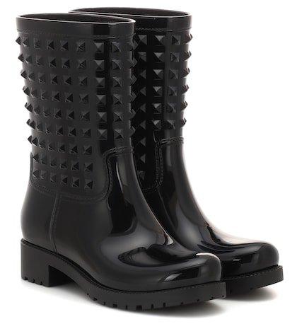 Valentino Garavani rubber rain ankle boots
