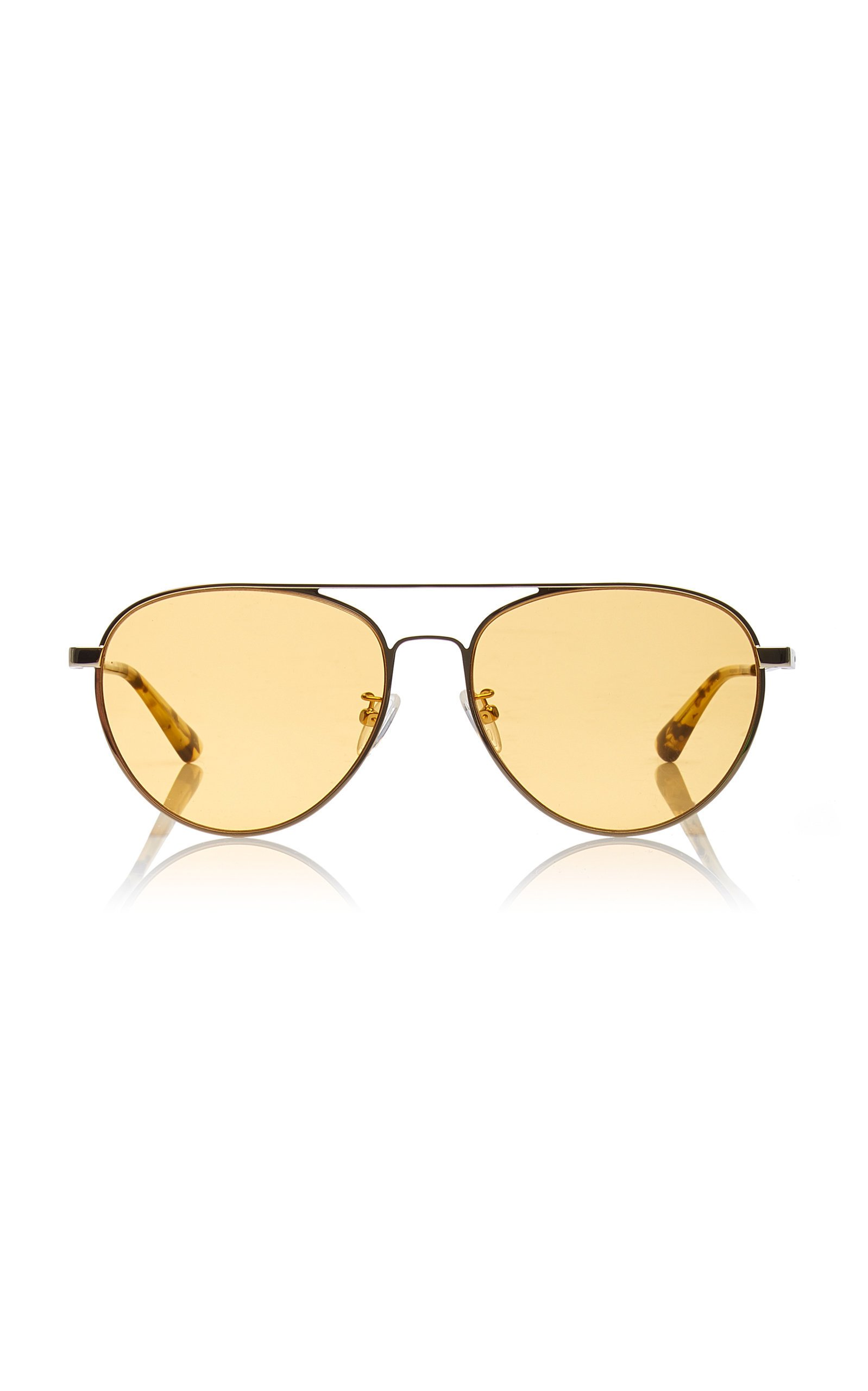 MCQ Sunglasses Aviator-Style Metal Sunglasses