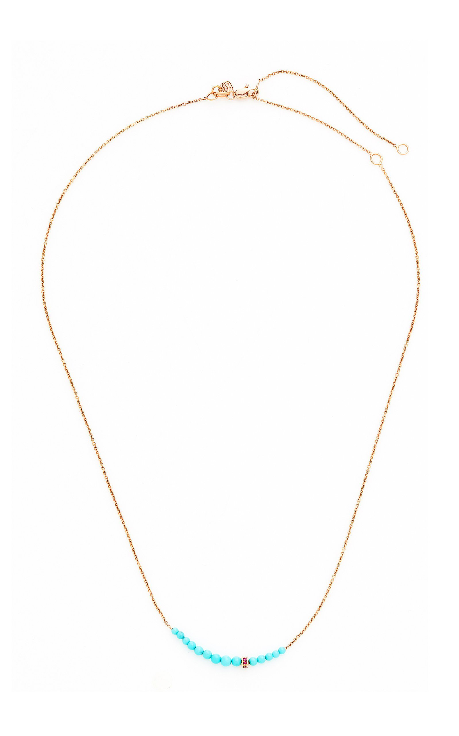 Sydney Evan Turquoise Graduated Necklace