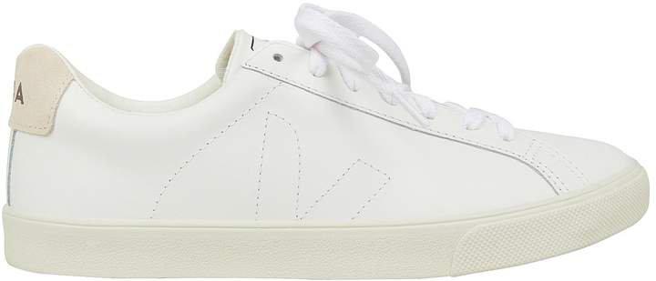 Esplar White Low-Top Sneakers