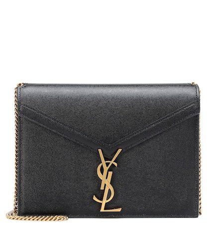 Cassandra leather shoulder bag