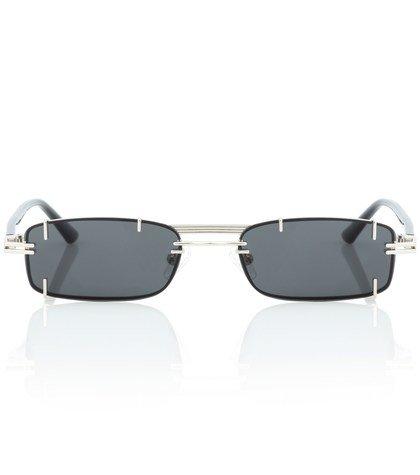 x Linda Farrow rectangular sunglasses