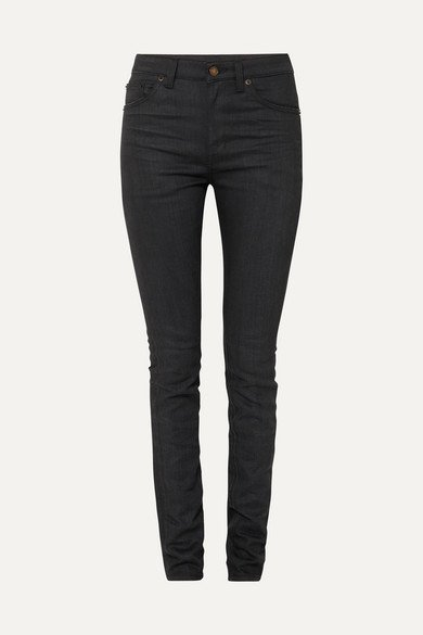 SAINT LAURENT | High-rise skinny jeans | NET-A-PORTER.COM