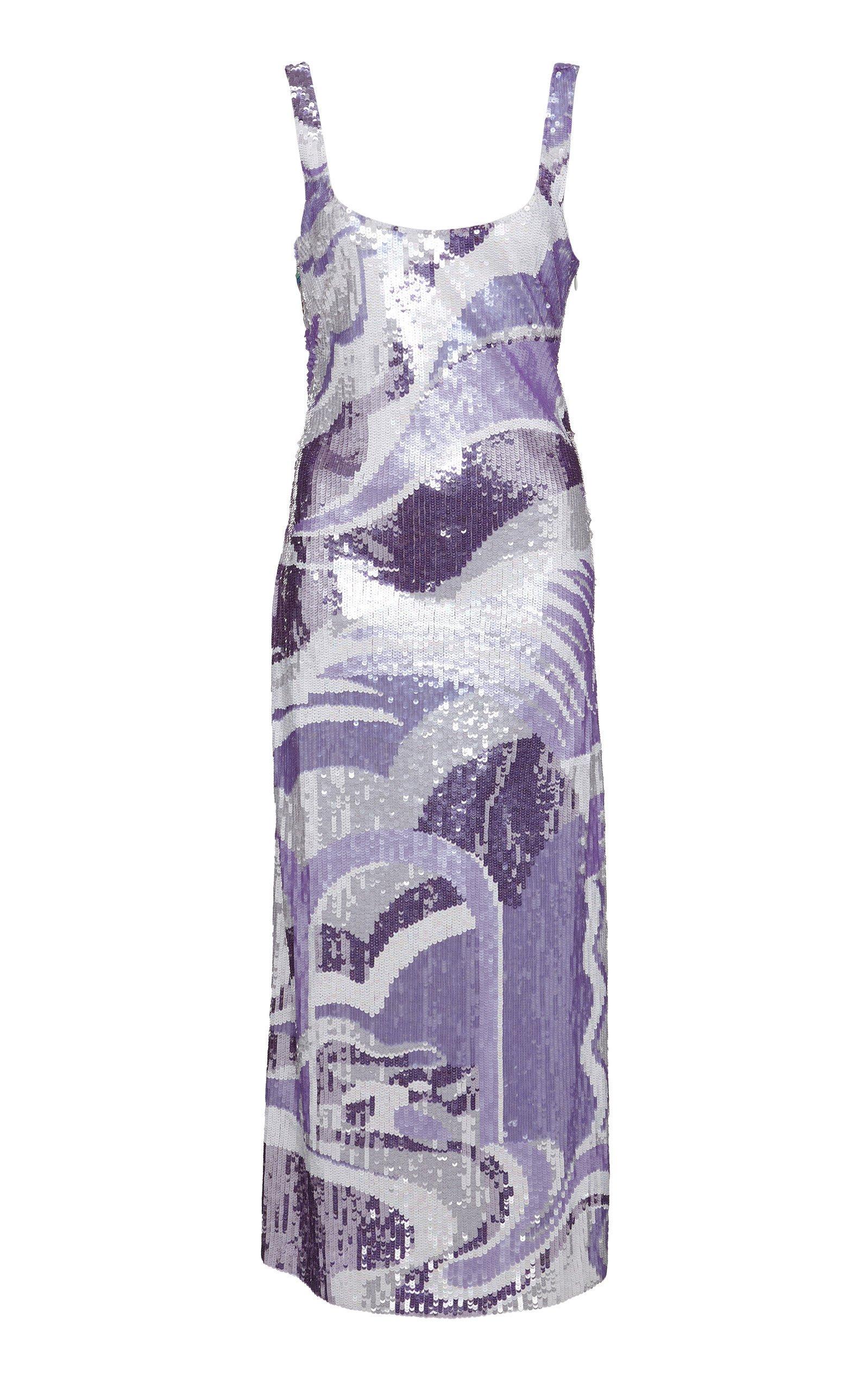 Emilio Pucci Sequin Midi Dress