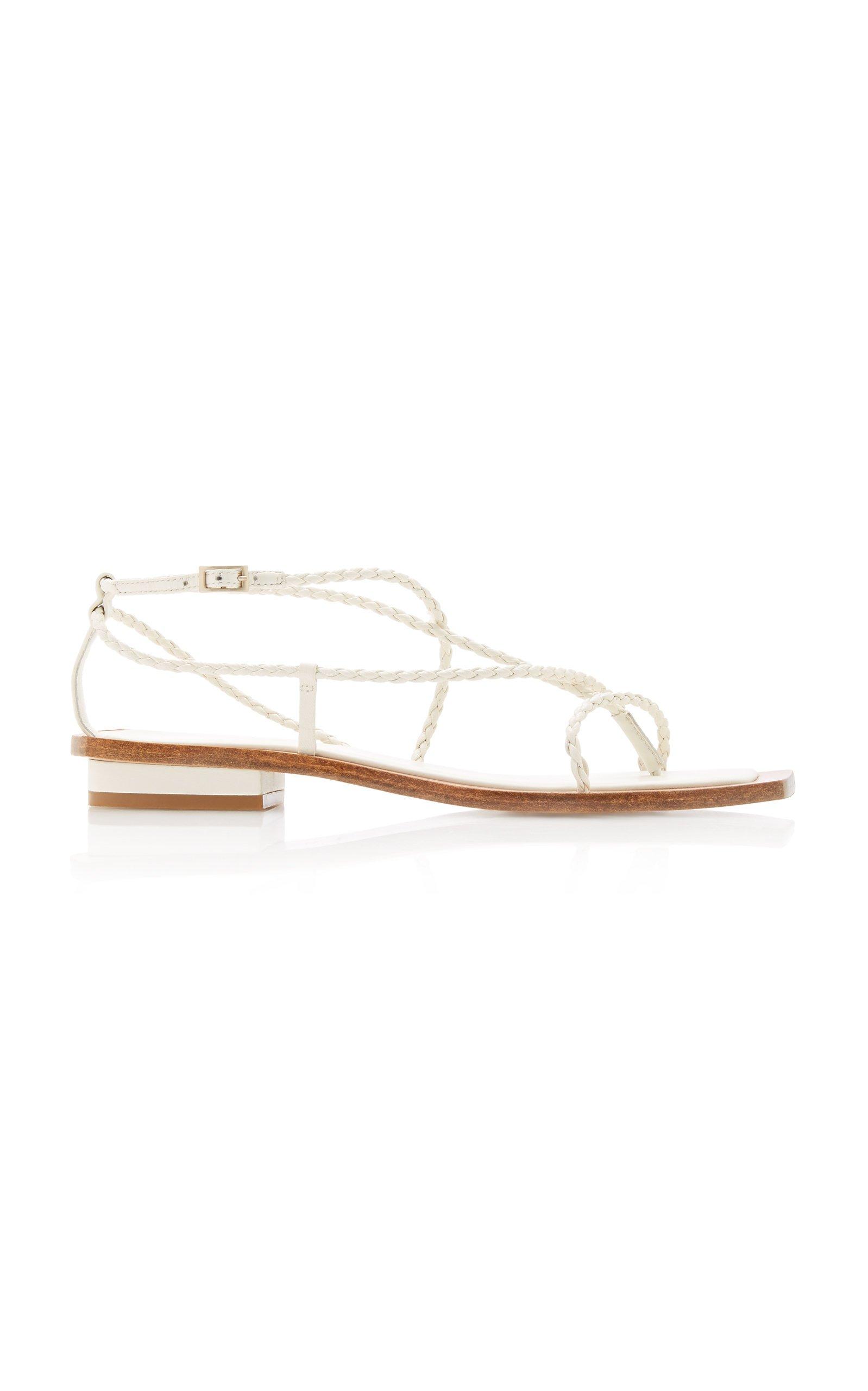Juno Braided Sandals by Cult Gaia | Moda Operandi
