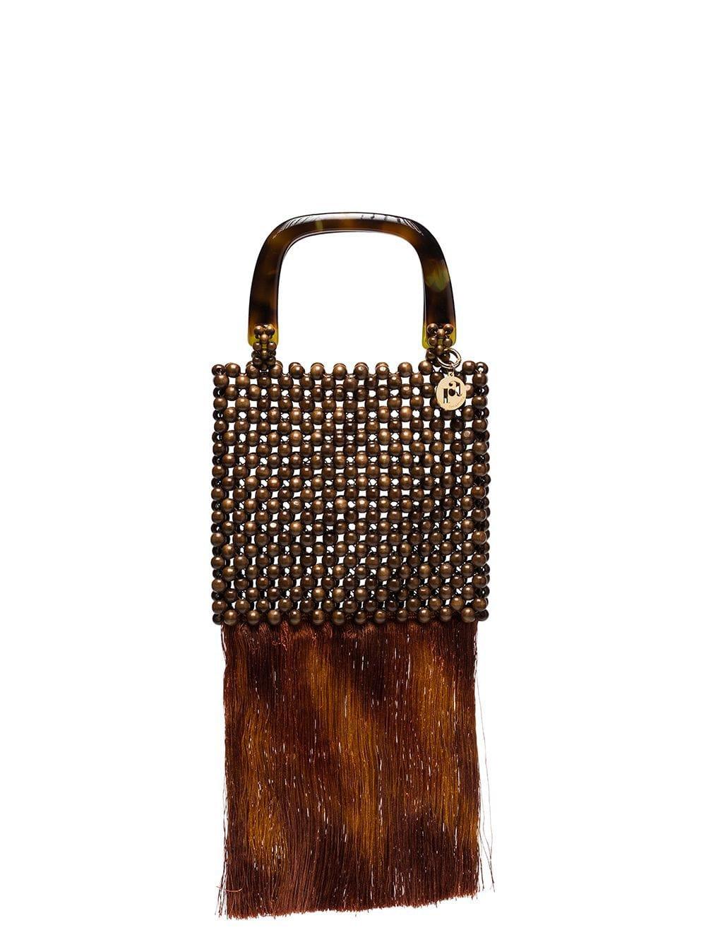 Rosantica Marv Bead Embellished Tote - Farfetch