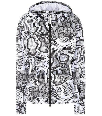 Run printed jacket