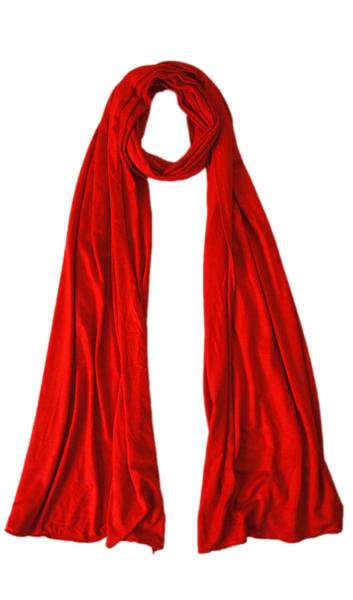Candy Red Maxi Jersey Hijab
